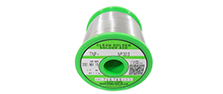 Lead-containing flux-cored solder